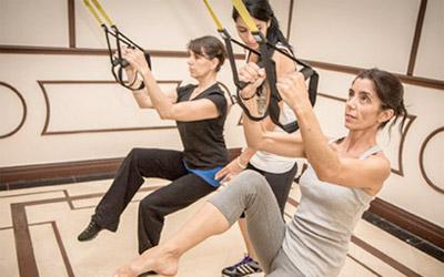 """Las nuevas tendencias """"fitness"""": TRX cada día más consolidado"""